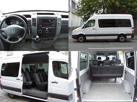 mercedes benz sprinter 213 cdi 9 sitzer 1 60m ladefl che 9 sitzer 9 sitzer 7809269602. Black Bedroom Furniture Sets. Home Design Ideas