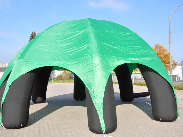 Event Dome / Party Dome /  8 x 8 Meter Spinnenzelt aufblasbar