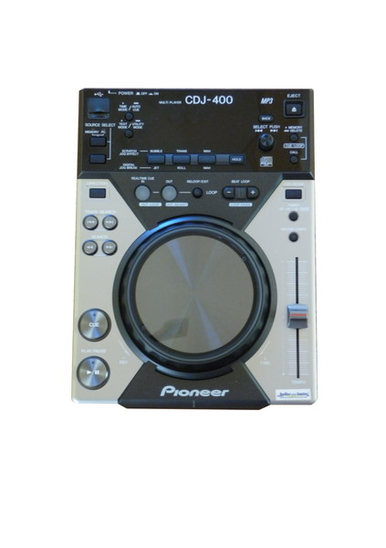 Pioneer CDJ 400 - Digitales CD Deck mit MP3 und USB Audio