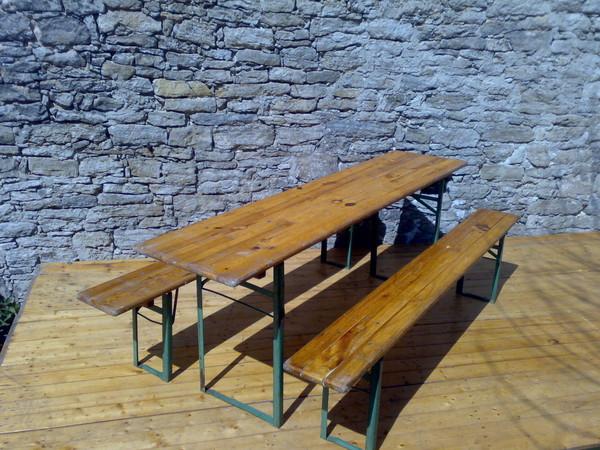festzeltgarnitur b nke bierzeltgarnitur 9688892747. Black Bedroom Furniture Sets. Home Design Ideas