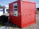 Container, Materialcontainer, Bauh�tte, B�rocontainer