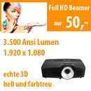Full HD Beamer 3.500 ANSI Lumen