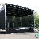 EcoStage S - 6x4m - Mobilb�hne | B�hnendach | Anh�ngerb�hne | Showb�hne
