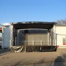Trailerb�hne, Rundbogenb�hne, mobile B�hne, Showb�hne, Open Air B�hne