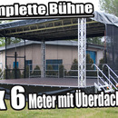 Open Air B�hne / Mobile Stage 8x6m