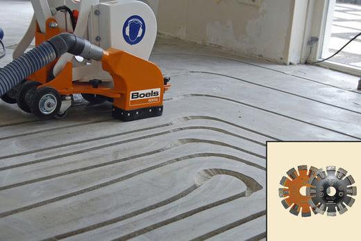 Fußbodenheizung Fräsen bodenbelag für fußbodenheizung trittschalld mmung f r die fu