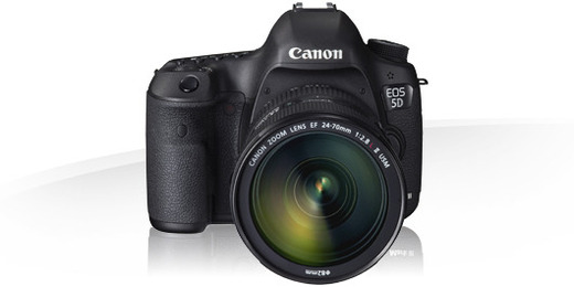 Canon 5D Mark III Body mit 24-70mm 2,8 Optik oder 16-35mm oder 70-200mm