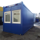 B�rocontainer mit WC    6,05 x 2,435 x 2,8 Meter   RIH 2,5 m
