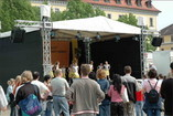 8 x 6m Open-Air Hubdach B&uuml;hne