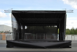 Mobile Bhne, Trailerbhne, Bhne, Smartstage 45, Spielflche 7, 10 x 6, 25m