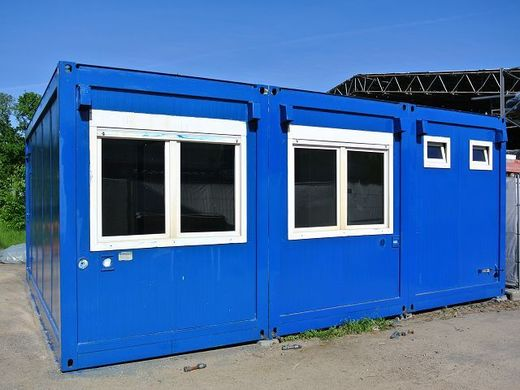 container 3er anlage von containex b rocontainer. Black Bedroom Furniture Sets. Home Design Ideas