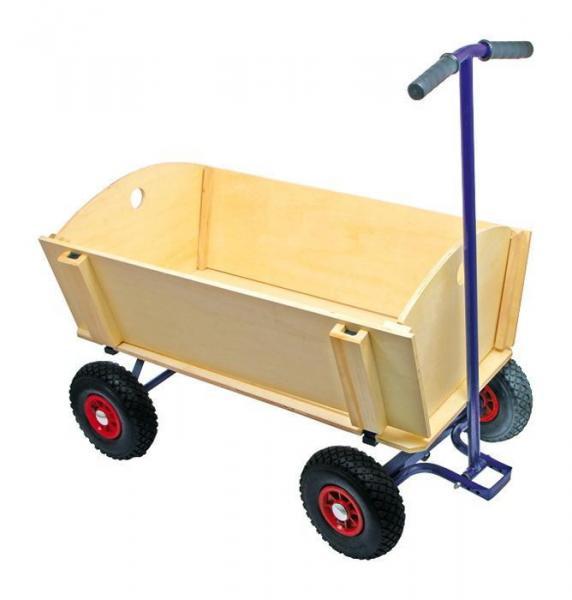 gro er bollerwagen 100x64 cm bis 200 kg belastbar. Black Bedroom Furniture Sets. Home Design Ideas