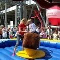 BULLRIDING - inkl. Personal, Soundanlage, 7 Stunden Aktionszeit. 