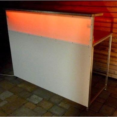 moderne led beleuchtete theke stecksystem cocktailbar. Black Bedroom Furniture Sets. Home Design Ideas