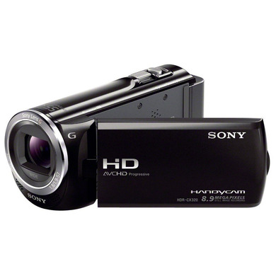 sony hdr cx320eb full hd flash camcorder videokamera. Black Bedroom Furniture Sets. Home Design Ideas