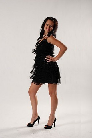 Evening Dress Hire on Black Flapper Dress  Evening Dress   2928053169   Erento Co Uk