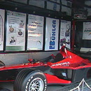 FORMEL1 SIMULATOR mit groen Werbeflchen ( Preis ab 500 .-) im Bild 1-Seitige ffnung. DEUTSCHLAND weit !