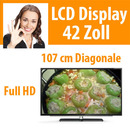 "42"" LCD Display Fernseher TV Monitor 1.920 x 1.080"