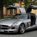 SLS AMG FL�GELT�RER mit absolut POWER - 317 Km/h ! ! !