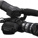 Sony NEX-FS100EK Camcorder mit Super-35-mm-Exmor-CMOS-Sensor