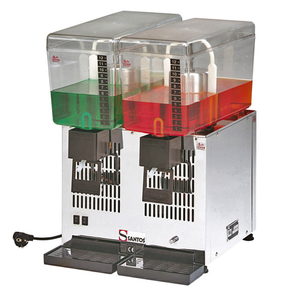 Fun Food & Cocktailmaschinen - Getränke-Dispenser 2*12 ltr