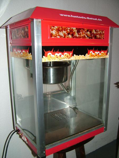 Popcornmaschine f&uuml;r frisches Popcorn