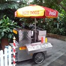 Hot Dog Wagen,Hot Dog, Imbisswagen,Grill,american food, fun food