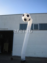 Air Dancer / Sky Dancer Soccer / Fußball 6m