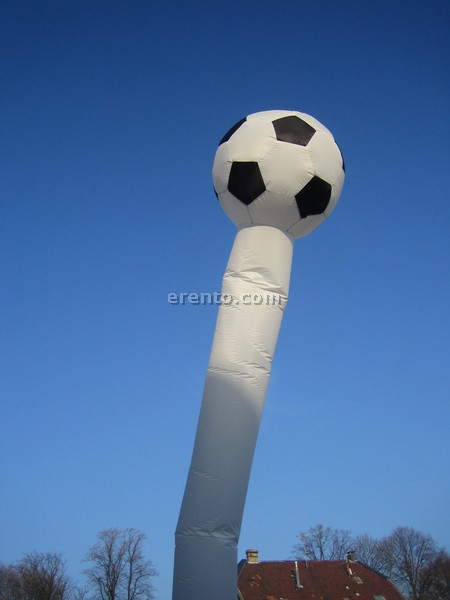 Fussball-Dekoration - Air Dancer / Sky Dancer Soccer / Fußball 6m