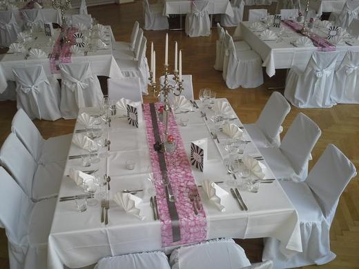 Tischdeko Mit Glasvasen F R Hochzeit Und Feste