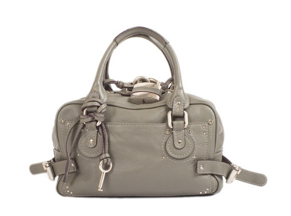 Chloe Paddington Bauletto in Grey/Green, Handbag - 9092037568 ...