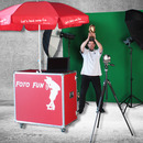 Fotoaktion Greenscreen inkl. 2 Eventbetreuer (6 Std.)
