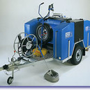 Diesel-Engine Driven Trailer Mounted Industrial Hot Pressure Washer