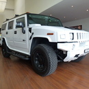 HUMMER H2 WEISS 7 Pltze www.luxrent.ch