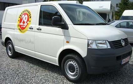 VW T5 Kastenwagen aus Mnchen bei erento.com