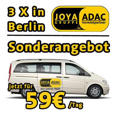 +++  ANGEBOT +++ JETZT 3 x IN BERLIN +++ SONDERAKTION +++ MERCEDES ODER VW