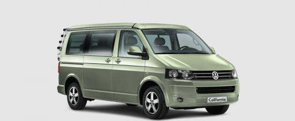VW T5 California Beach Aufstelldach 5 - 7 sitzer Camper
