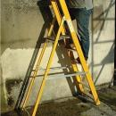 Grp Fibreglass Step Ladder Hire - 6 tread