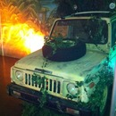Safari Jeep Halb