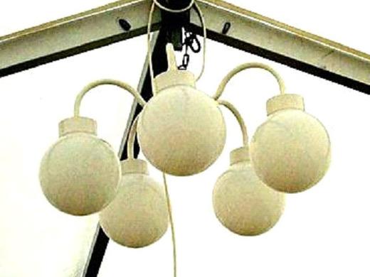 beleuchtung kugellampe mit 5 kugeln lampen 8051248382. Black Bedroom Furniture Sets. Home Design Ideas