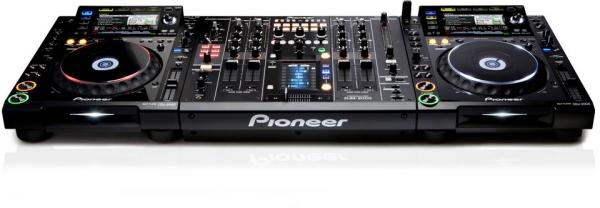 DJ Profi Pack I - Komplettsystem mit 1 x DJM 2000 + 2 x CDJ 2000 und EV X-Array XT1183/94 - Lautsprecheranlage - Tonanlage - Beschallungsanlage