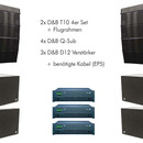 Line Array D&B T10 Q-Sub D12 Boxen Lautsprecher Speaker Beschallung Event Party Konzert