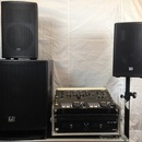 Partyanlage / Tonset: LD Systems Dave 15 G3 + Mischpult &Amp; Doppel CD/MP3 Player