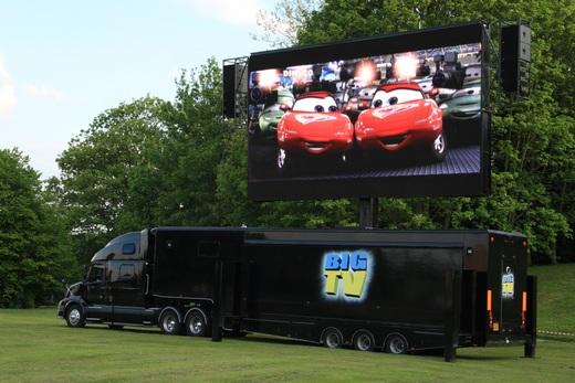 Led Screen Size Led Screen Tvs by Big tv 46sqm