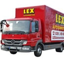 LKW MB Atego 816 7,5t Koffer mit Ladebordwand