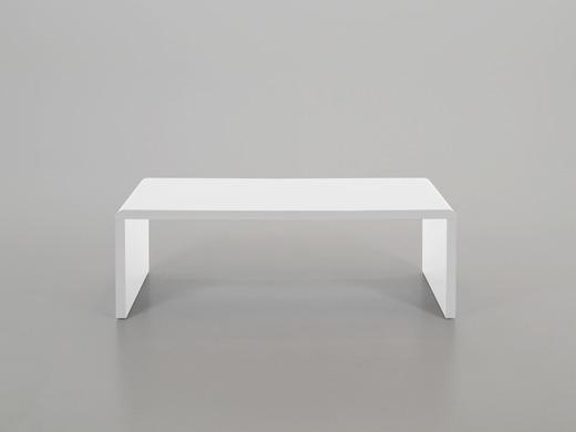 COUCHTISCH / Designer Loungetisch, weiß SUPERNOVA