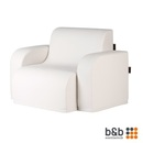 Design Lounge Sofa wei�, Sessel