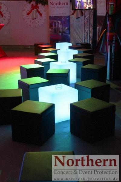 event m bel w rfel led multicolor loungem bel. Black Bedroom Furniture Sets. Home Design Ideas