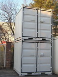 Lagercontainer, Materialcontainer, 8 Fuß