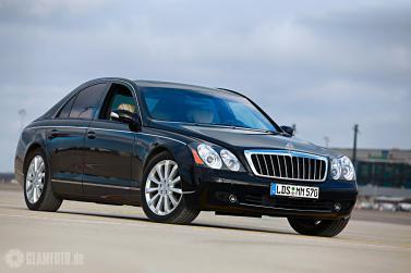Maybach 57S mit Chauffeur
